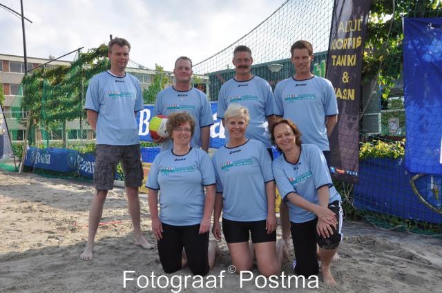 Beachvolleybal en Bedrijvenvoetbal 2013